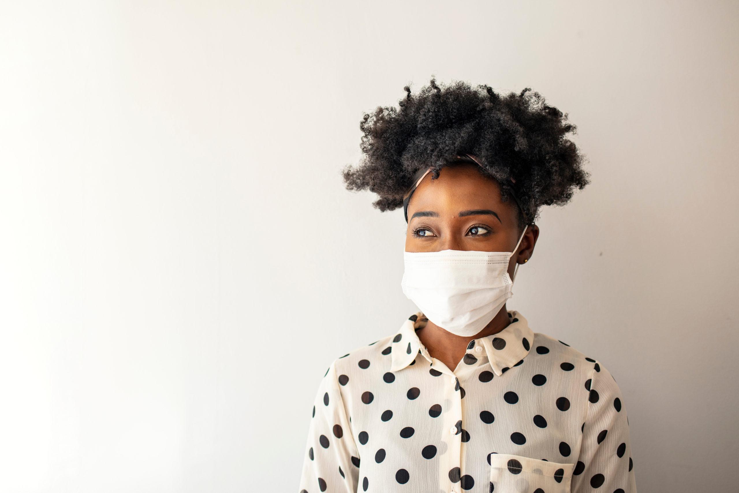 mask wearing millennials